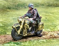 COLLECTORS SHOWCASE WW2 GERMAN NORMANDY CS00803 WAFFEN R75 DISPATCH RIDER MIB