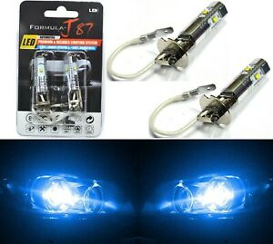 LED 30W H3 Blue 10000K Two Bulbs Fog Light JDM Show Replacement Off Road