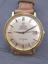 schöne Armbanduhr Omega Constelation Stahl/Gold ca.60er Jahre