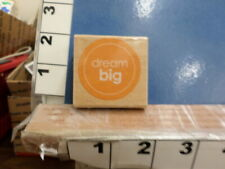 dream big saying rubber stamp 36d