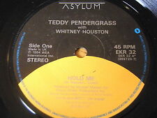 "TEDDY PENDERGRASS & WHITNEY HOUSTON - HOLD ME     7"" VINYL"