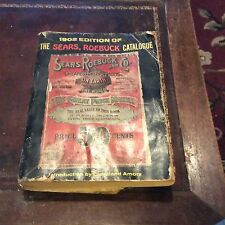 Vintage Sears Roebuck Catalog Reproduction 1902 Crown Publishers 1969
