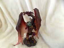 Collectible 2005 Posable Mythical & Magical Fantasy Winged Dragon Figurine