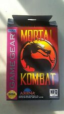 CIB - Mortal Kombat - Sega Game Gear (1992) - Free Shipping