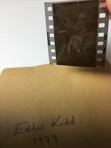 Eddie Kidd . 1979. 1x1. Vintage Original Negative .