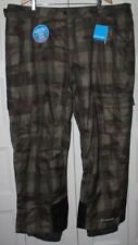 NEW Columbia Ski Snowboard Pants Men size 4X 4XL Ridge 2 Run II Omni Heat Green