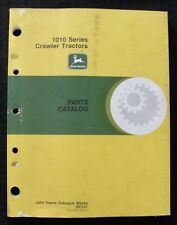 Genuine John Deere 1010 Crawler Tractor Parts Catalog Manual Very Good Shape