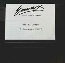 Emu Emax Sample Library Diskette Analog Combo ZD776