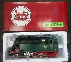 LGB 22802 Sound 2-6-2 GERMAN Steam Tank Locomotive GREEN / RED #21NWE
