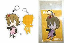 "K-On! Acrylic Key Chain Ritsu Tainaka 3.74"" Grand Marche Kakifly Licensed New"