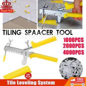 Kit Tile Leveling Spacer System Tool Clip Wedges Wall Flooring Level Lippage UK