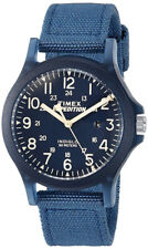 Timex Unisex Expedition Arcadia Blue Fabric Strap Watch - Tw4b09600