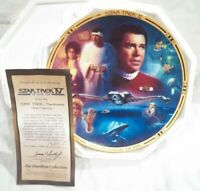 The Movies collector plate of Star Trek IV: The Voyage Home #0915F From 1994,