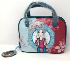 BNWT Santoro London Necessities Bag Handbag 2 Handles Zip Glitter Lady Parasol