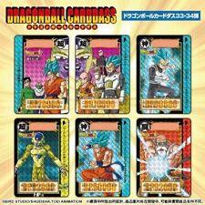 Bandai Premium Dragonball Z Carddass Card Complete Box Set Part 33 & 34 Full set