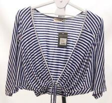 Sussan Regular Size Striped Tops & Blouses for Women