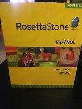 Rossetta Stone Spanish Homeschool