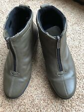 Hotter Ladies Leather Ankle Boots Size UK 6.5 EUR 40