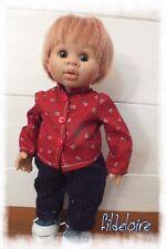 vêtements compatible poupée Wichtel  30 cm
