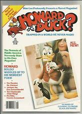 Howard The Duck Magazine # 1 NM- Marvel B&W Comic Book Series Issue 1979