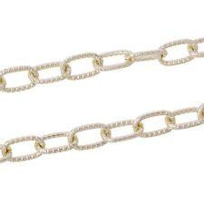 Ovale Modeschmuck-Halsketten & -Anhänger aus Aluminium