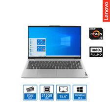 "Lenovo IdeaPad 5 Laptop AMD Ryzen 7 4700U 8GB RAM 512GB SSD 15.6"" FHD Win 10 S"