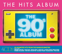 Various Artists : The Hits Album: The 90s Album CD Box Set 4 discs (2019)