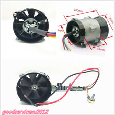 12V 16.5A Car Electric Turbine Power Turbo Charger Tan Boost Air Intake Fan &ESC