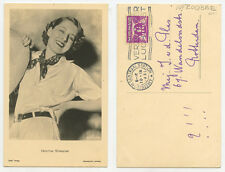 CANADIAN-AMERICAN ACTRESS/STAR 1925-1942 EDITH NORMA SHEARER PHOTO POSTCARD