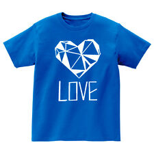 "Ansaveh ""Love"" Kids Round neck Statement Shirt- Choose Any Color"
