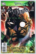 Batman Arkham City #2 VF/NM Signed w/ COA by Artist Carlos d'Anda DC 2011