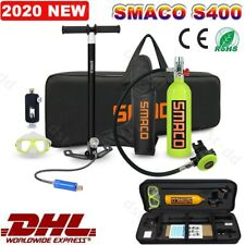 SMACO Mini Scuba 1L Oxygen Tank Hand Air Pump Diving Equipment Kit Portable Bag