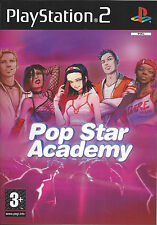 POP STAR ACADEMY for Playstation 2 PS2 - with box & manual - PAL