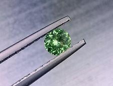 STunning Round Cut 0.34 cts Natural Meralani Vivid Green Glossular Garnet , #005