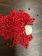 PP Plastic Pellets Polypropylene Resin Material Injection Molding Red 10 Lbs