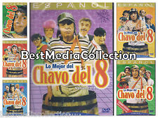6 Pack EL Chavo Del 8 Ocho DVD NEW Vol 1 2 3 4 5 y 6 Coleccion Ships Today !