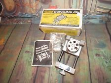 GENERAL NO. 840 DOWELING JIG, WITH ORIGINAL BOX AND INSTRUCTIONS