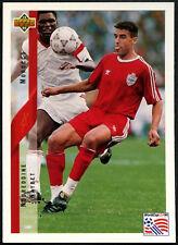 Noureddine Naybet, Marruecos #207 World Cup USA'94, (tarjeta ENG/GER) (C385)