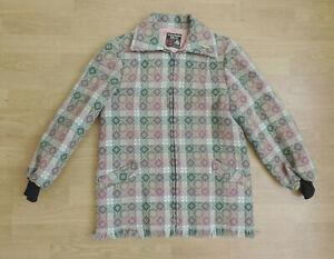 Women's Trefriw Woolen Mills True Vintage Welsh Wool Coat Jacket L3-B4