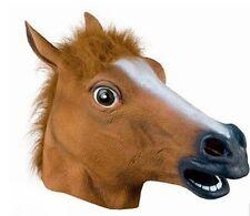 Halloween Horse Head Latex Mask Ghost House Christmas