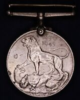 British military medal WW2 George VI 1939-1945 War Medal [14715]