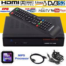 Reino Unido Original HD zgemma Caja Doble Sintonizador Receptor de satélite 2S DVB al aire libre