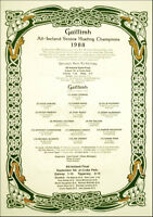 Galway All-Ireland Senior Hurling Champions 1988: GAA Print