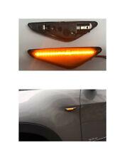 LED Seitenblinker Blinker Schwarz Gelbe Streife BMW X3 F25 X5 E70 X6 E70 (154)