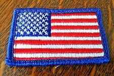 Patches Boy Scouts America Pack 2 x USA Patriotic Flag Uniform Shirt BSA Badges