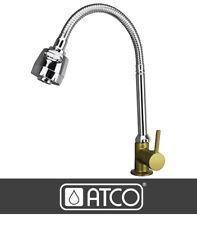 FLEX Kaltwasser Armatur Design  WC Waschtischarmatur Waschbecken gold/chrom