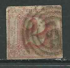 *Thurn & Taxis Collection Lot of 1 Used Stamp Scott 11 1859-60 - CV$110