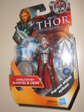 "ODIN ( 4"" ) HTF ( POP- OUT SHIELD ) 2010 MIGHTY THOR MARVEL MOVIE ACTION FIGURE"