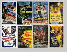 ABBOTT AND COSTELLO HORROR MOVIE POSTER PHOTO-FRIDGE MAGNETS