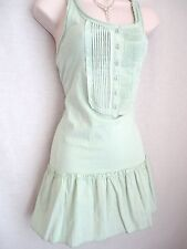 PALE GREEN BEACH COVER-UP DRESS/TOP SIZE 10 (EUR 38) - NEW